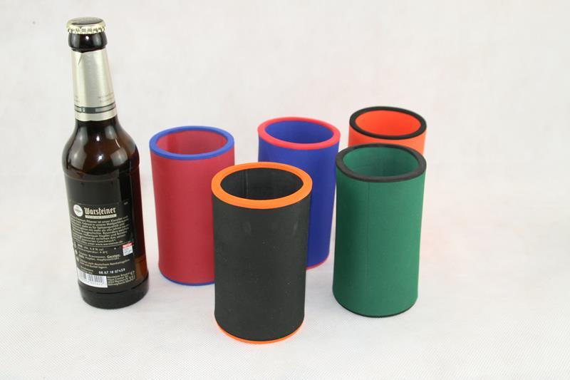 5er Set Getränkekühler 0,33l Flasche Neoprenkühler Bierkühler passgenau